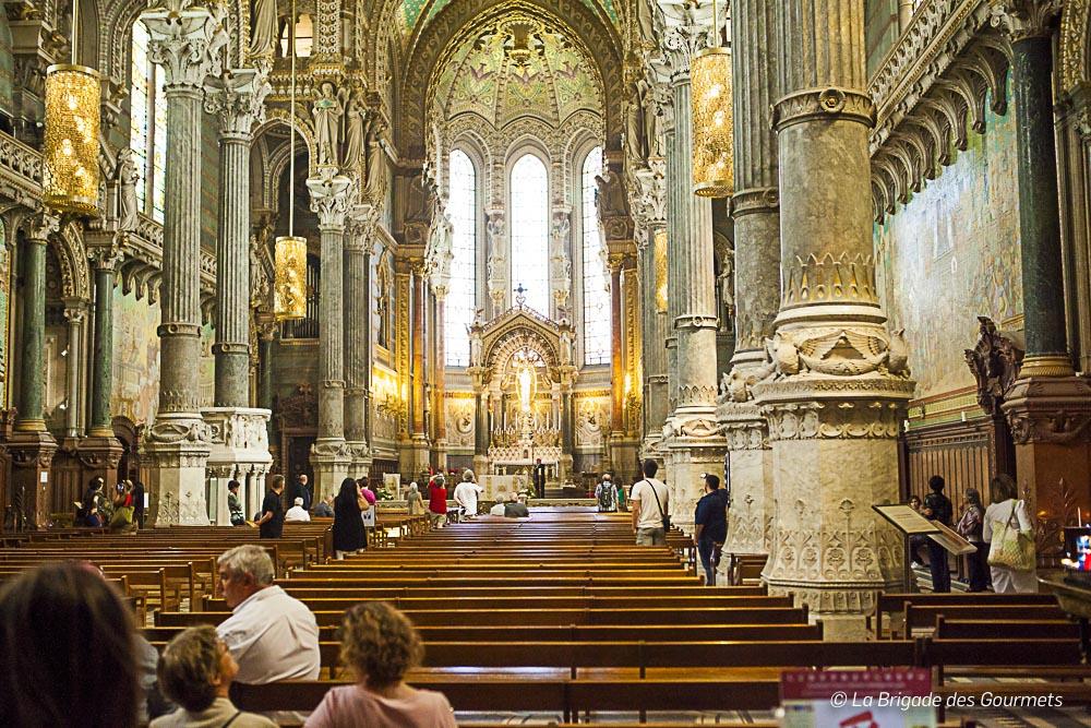 Au cœur de la basilique