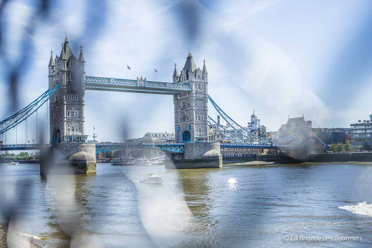 Le tower bridge, emblème de Londres