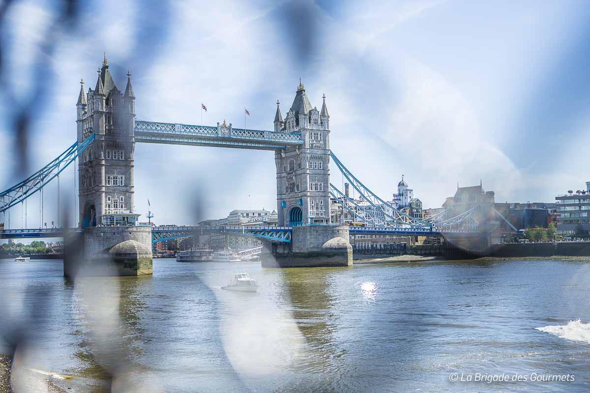 Le tower bridge, emblème de Londres