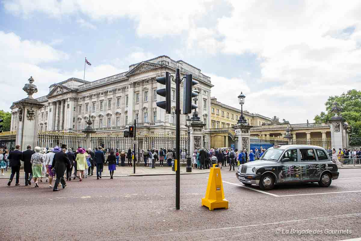 Buckingham Palace, un jour de garden-party