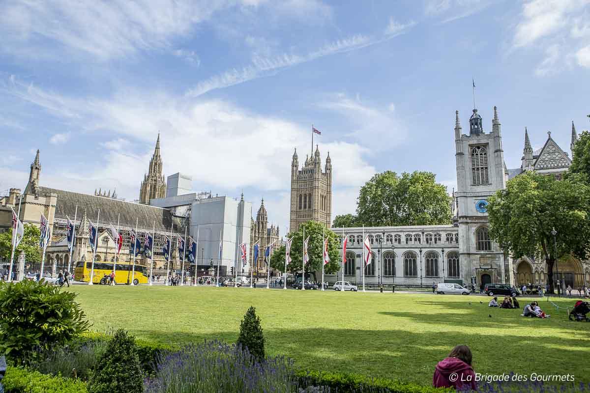 Abbaye et le chateau de Westminster