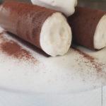 Croustillant au chocolat et noix de coco.
