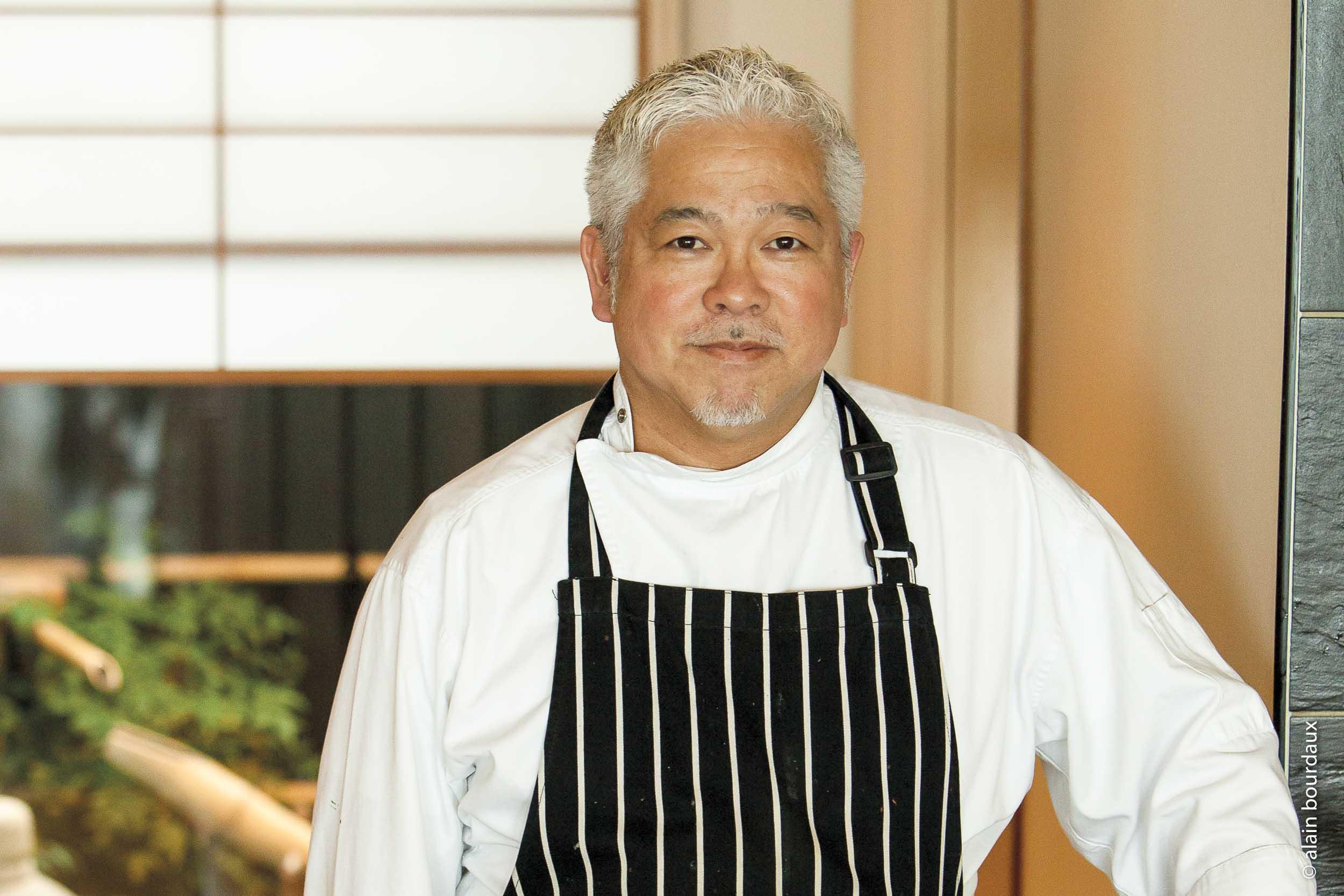 le chef Raphaël-Fumio Kudaka